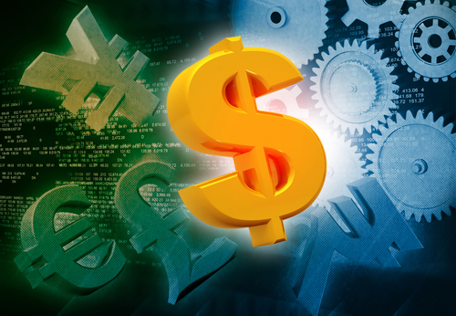 International currencies and gears , industrial production make money
